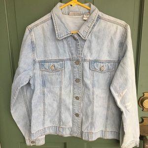 Bill Blass vintage light denim jacket